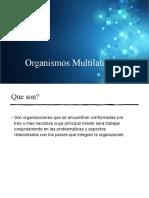 Organismos Multilaterales - GATT Y OMC