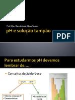 01 pH e solução tampão