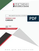 Norma E.020 Cargas