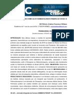 Hidroxicloroquina Como Alvo Farmacológico Frente Ao Covid-19 Artigo Cristian Fw Paula