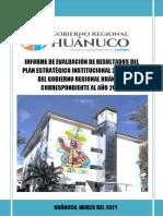 1 Final Informe de Evaluac Pei 2019-2023 Año 2020 31mar21 Enviar Et
