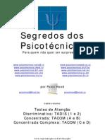 ATENÇÃO DISCRIMINATIVA - CONCENTRADA - COMPLEXA