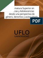 00.2206 Diplomatura Superior en Infancias y Adolescencias Desde Una Perspectiva de Género, Derechos y Autocuidado (R)