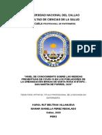 BELTRAN, PEREZ FCS TITULO PROF 2020