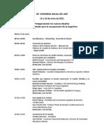 Programa 38º Congreso Anual IAEF - 11-06-2021