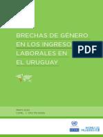 Brechas de Género en Los Ingresos Laborales en El Uruguay