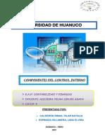 Control Interno (Pilar Rimas y Lidia Espinoza)
