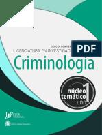 Investigacion Criminal Nt 1 - Criminologia