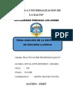 ANALISIS CASO LLAMOJA-JAHAIRA