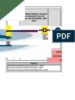 6-Exámenes Médico Legales Por Presunto Delito Sexual. Colombia, 2019