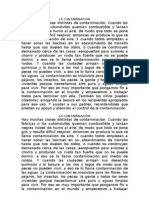 LA CONTAMINACIÓN1