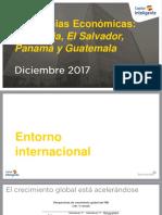(PRESENTACIÓN) Tendencias Económicas - Colombia, El Salvador, Panamá y Guatemala 2018