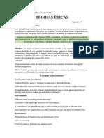 Sintese Esquematica - Caroline Fahl - TEORIAS ÉTICAS.docx