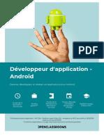 brochure_Développeur d'application - Android