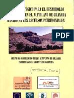 Plan Eseca (2001) - Plan Estratégico para el Desarrollo del Turismo en el Altiplano de Granada basado en los Recursos Patrimoniales