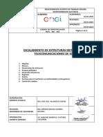 PETS – MC – 001 Escalamiento de Estructuras Torres Comunicacion