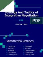 Chap 3 Integrative Negotiation