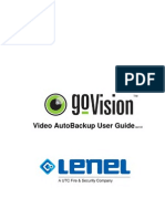 goVision Video AutoBackup User Guide_ENU
