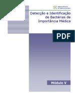 IDENTIFICAÇÃO BACTERIAS IMPORTANCIA MÉDICA-ANVISA
