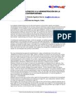 Epistemología adminitrativa