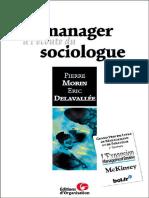 Pierre Morin, Eric Delavallée-Le Manager à L_écoute Du Sociologue (2000)