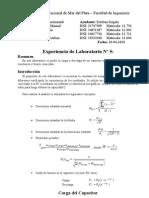 Laboratorio - Carga Descarga de Capacitor