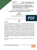 Le factoring une alternative de financement des PME pendant la crise du COVID 19