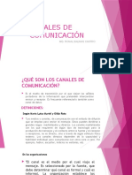 CANALES DE COMUNICACIÓN II