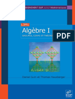 Algèbre Tome 1 - Groupes, Corps Et Théorie de Galois - EDP Sciences