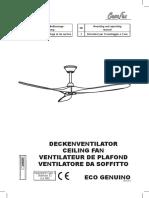 Ventilator Eco Genuino D_GB_FR_I_v1