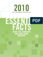 ESA Essential Gaming Facts 2010