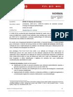 Norma 015-2020 - Rastreio de Contactos