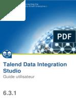 Talend DataIntegration Studio UG 6.3.1 FR
