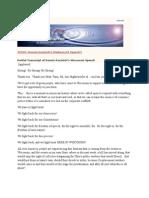 14-03-11  Video and Partial Transcript of Dennis Kucinich's Wisconsin Speech