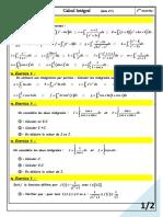Calcul Integral Exercices Non Corriges 2 4
