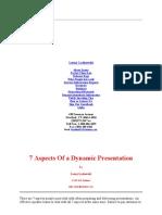 Dynamic Presentation