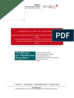 evaluacion de los habitos alimenticios y estado nutricional