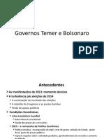 Governos Temer e Bolsonaro