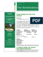 Nickelodeon Newsletter 2006-05-23