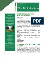 Nickelodeon Newsletter 2006-10-10