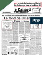 Le Canard Enchaîné 5247 du 2 juin 2021