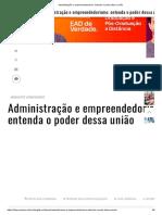 Administração e empreendedorismo_ entenda o poder dessa união