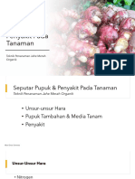 Modul Seputar Pupuk & Penyakit -AES1