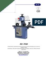 Manuale RC750 I-GB