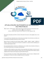Atualização Automática de Moedas no Protheus - Smart Siga