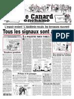 Le Canard Enchaîné 5245 du 19 mai 2021
