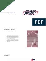 MANUAL DA MARCA CURTA PADEL