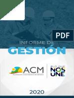 ACM   Informe de Gestión 2020