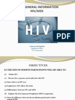 BASIC GENERAL INFORMATION HIV