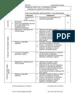 INGLES Criterios de Calificación